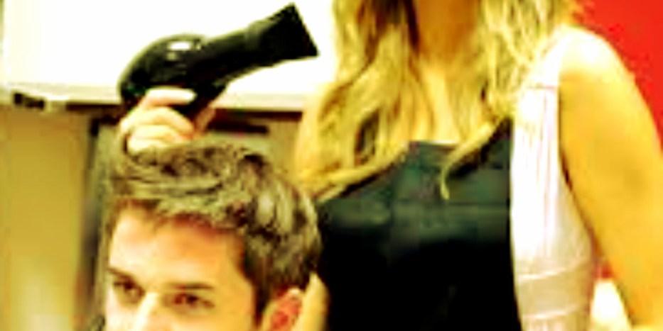 Apologise, but, sexy hair stylist handjob video