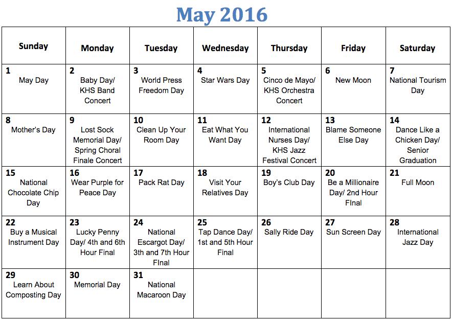 Calendar Of National Holidays Funny Weird Holidays In 2017 Obscure Bizarre Wacky Funny Weird Holiday Calendar 2016 Calendar Template 2016