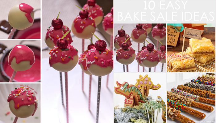 10 Easy Bake Sale Ideas for Kids - The Kitchen Gift Company - easy bake sale goodies