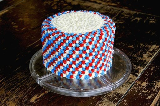 easy fourth of july cake