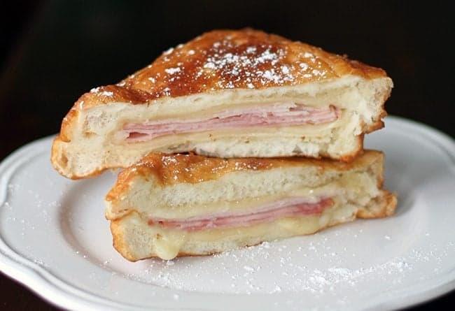 Copycat Disneyland Monte Cristo Sandwiches - The Kitchen ...