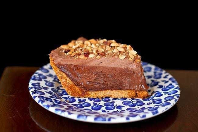 Hazelnut Chocolate Cream Pie Using Frangelico - The Kitchen Magpie