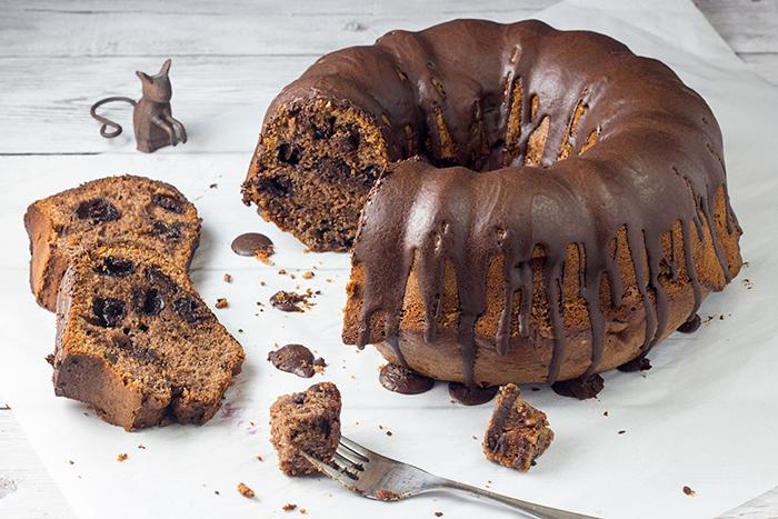 Cherry Chocolate Pound Cake