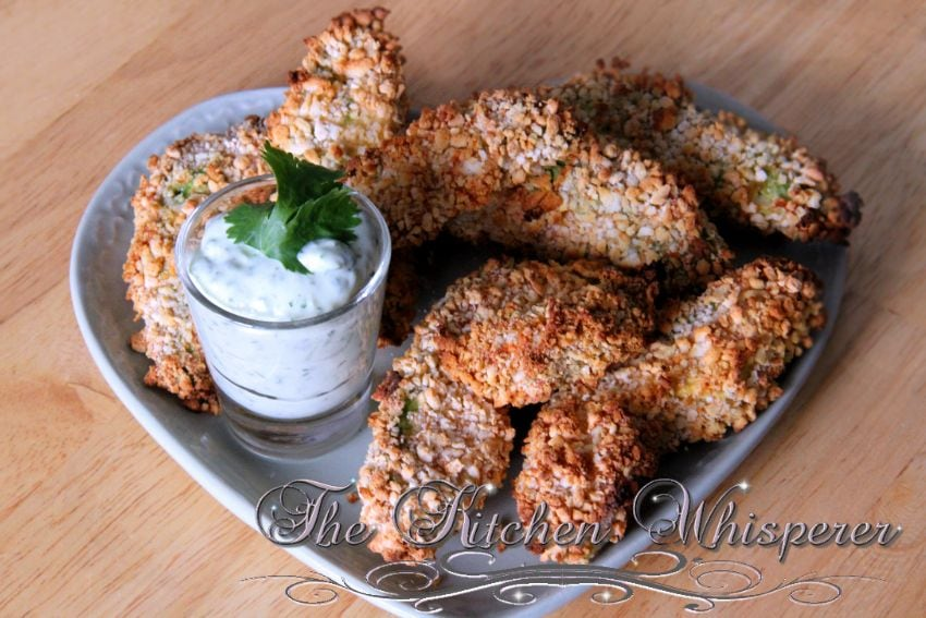 Baked Crispy Avocado Fries3