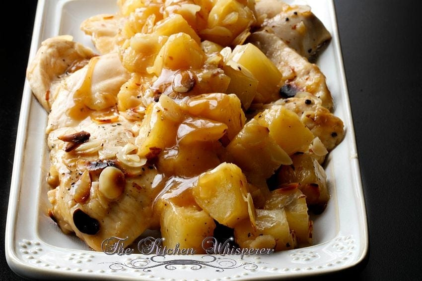 how to cook chicken afritada with pineapple