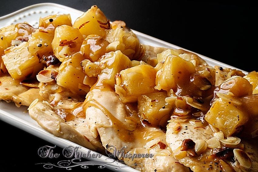 Baked Pineapple Almond Chicken3