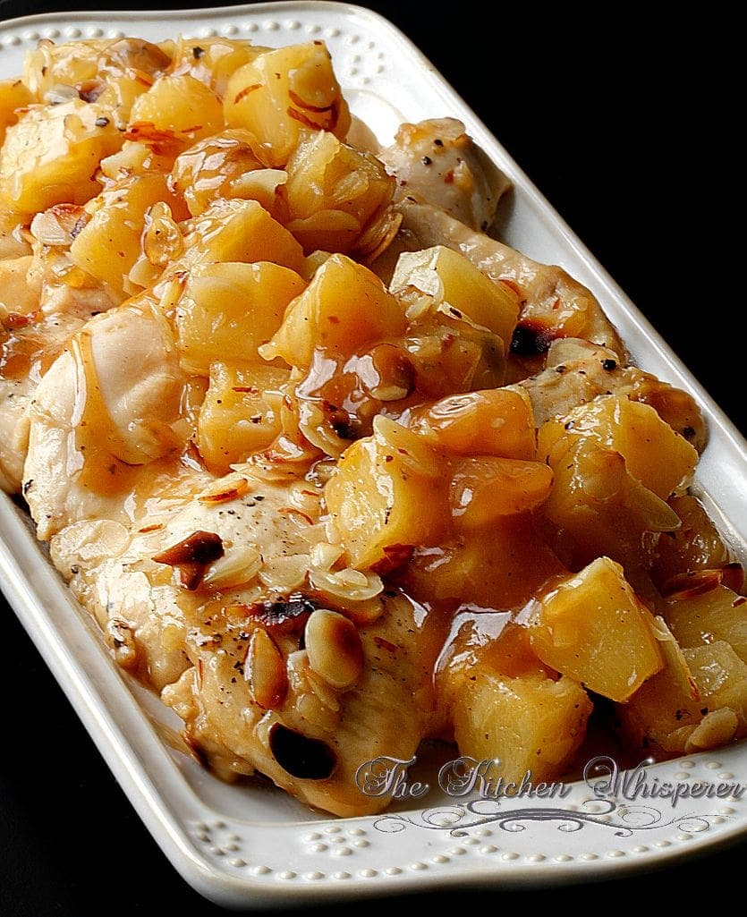 Baked Pineapple Almond Chicken5