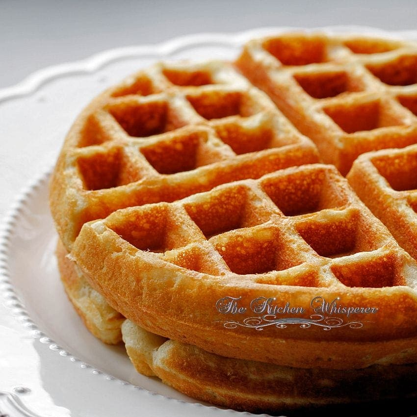 these waffles are more like brussels waffles so they have