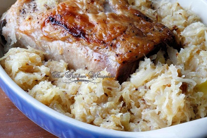 Boneless pork loin recipes with sauerkraut