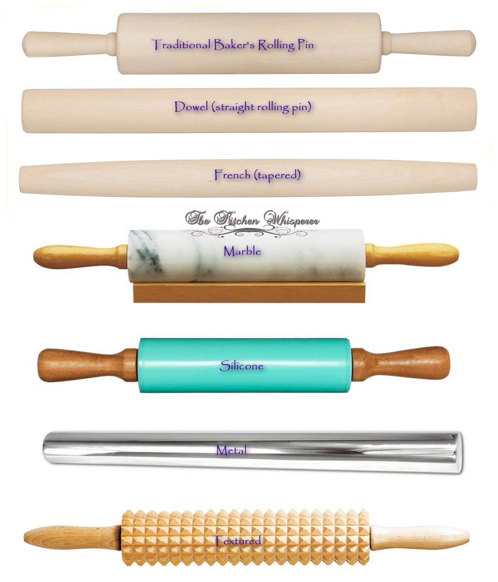 Old fashioned rolling pins 7