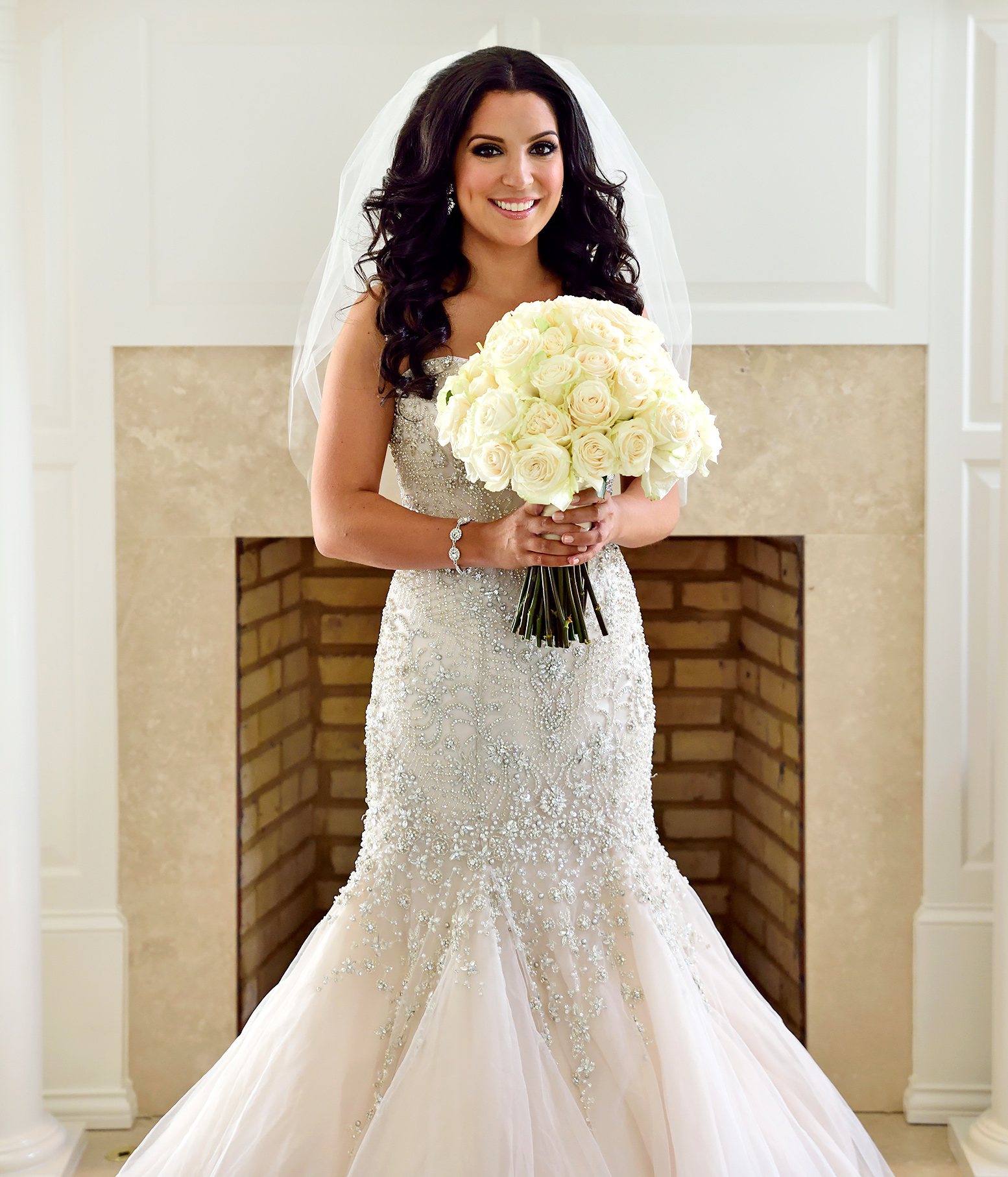 married at first sight wedding dresses get the look mermaid dress wedding Ashley wore a beaded mermaid gown for her wedding to David on Married at First Sight