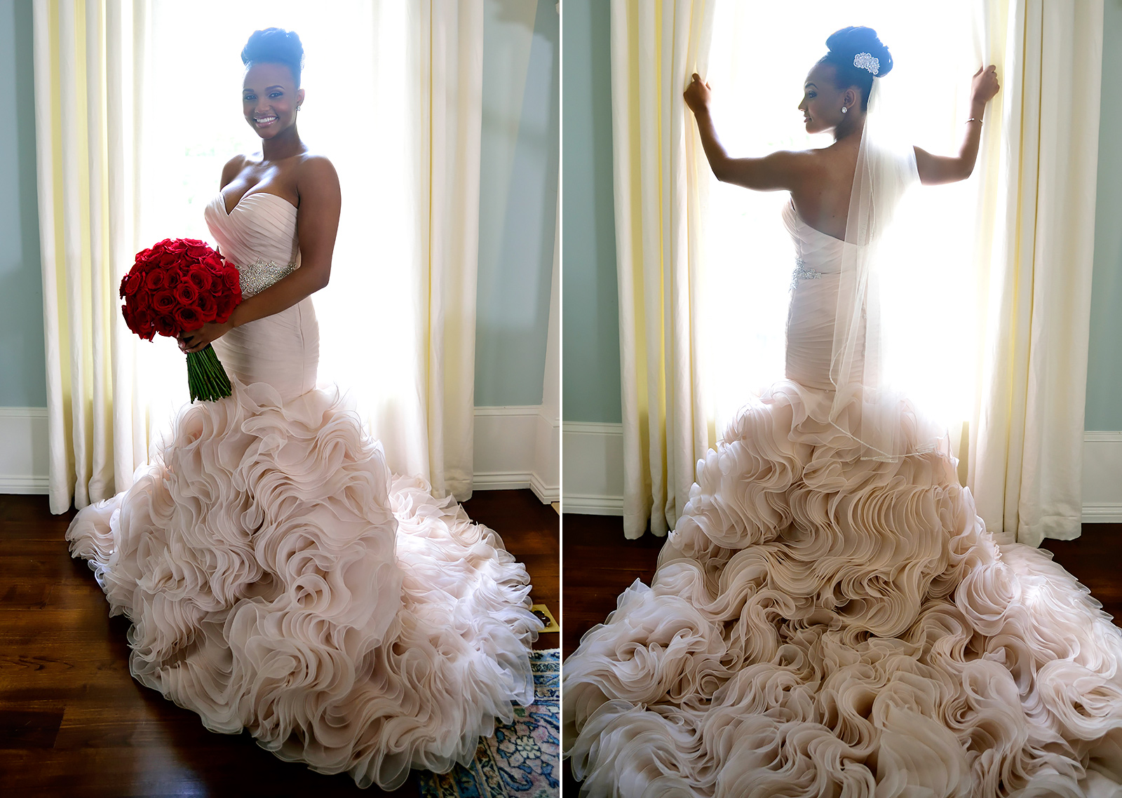 married at first sight wedding dresses get the look champagne colored wedding dress Vanessa wore a champagne colored wedding dress to marry Tres on Married at First Sight