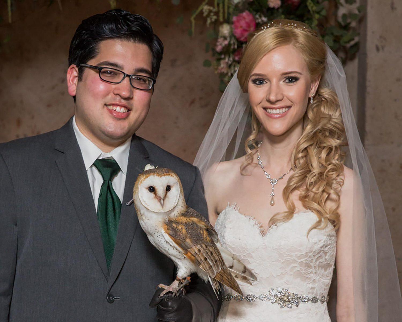harry potter wedding owl ring bearer harry potter wedding bands Harry Potter wedding owl ring bearer