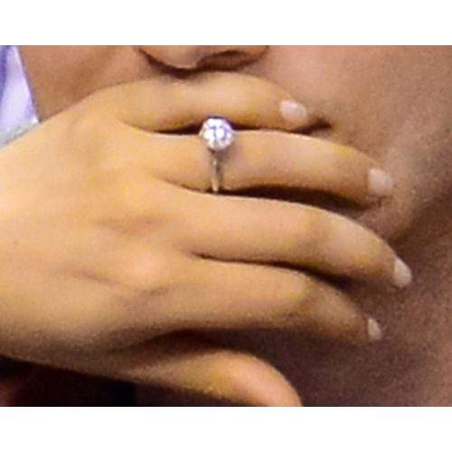 Medium Crop Of Mila Kunis Engagement Ring