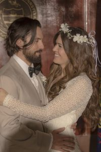 Mandy Moore Inspired By Her This Is Us Wedding Dress