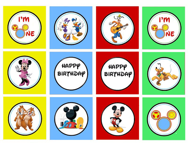 mickey mouse clubhouse free party printables