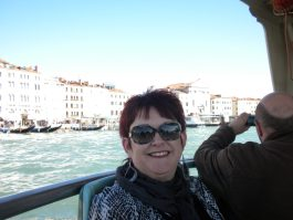 Tammy in Venice, Italy