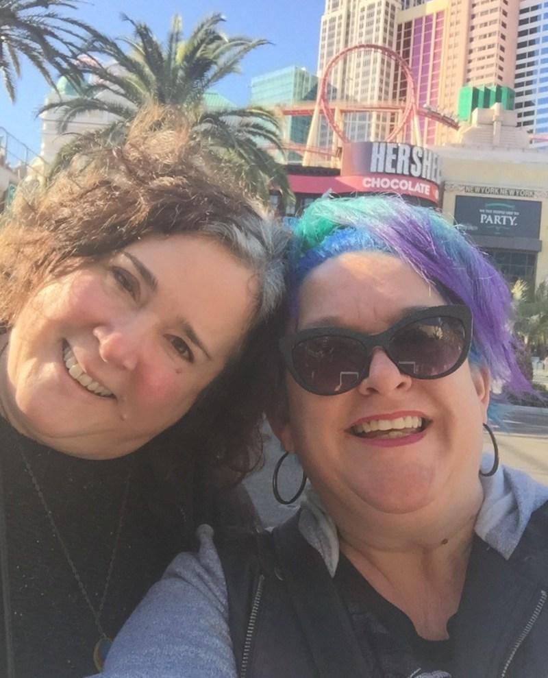 Annmarie Visits - Vegas