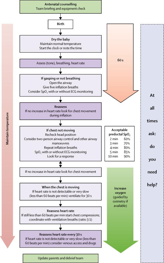 Towards evidence-based resuscitation of the newborn infant - The Lancet