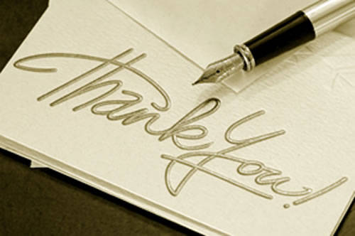 Interview Thank-You Notes To (Hand) Write or Not to Write? -