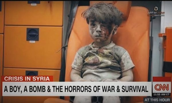 Assad: 'Picture of Bloodied Syrian Boy Cited by Hillary at Final Debate is Fake'