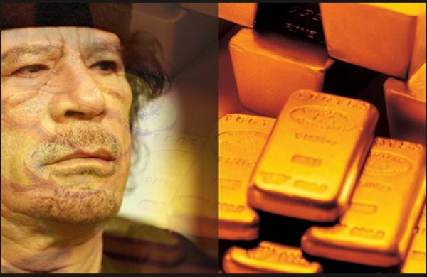 5 Years Ago Today, the US Helped Murder Gaddafi to Stop the Creation of Gold-Backed Currency