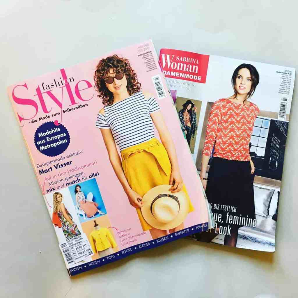 Fashion Style Knip Mode And Sabrina Pattern Magazines Last Stitch