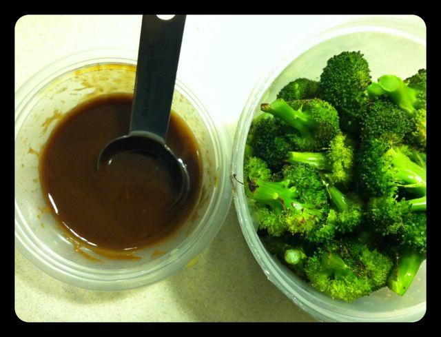 IMG 1640 Roasted Broccoli w/ BBQ Sauce