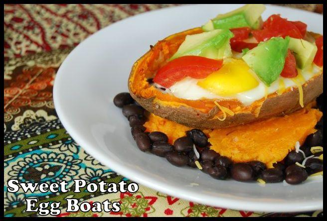 egg8 Sweet Potato Egg Boats