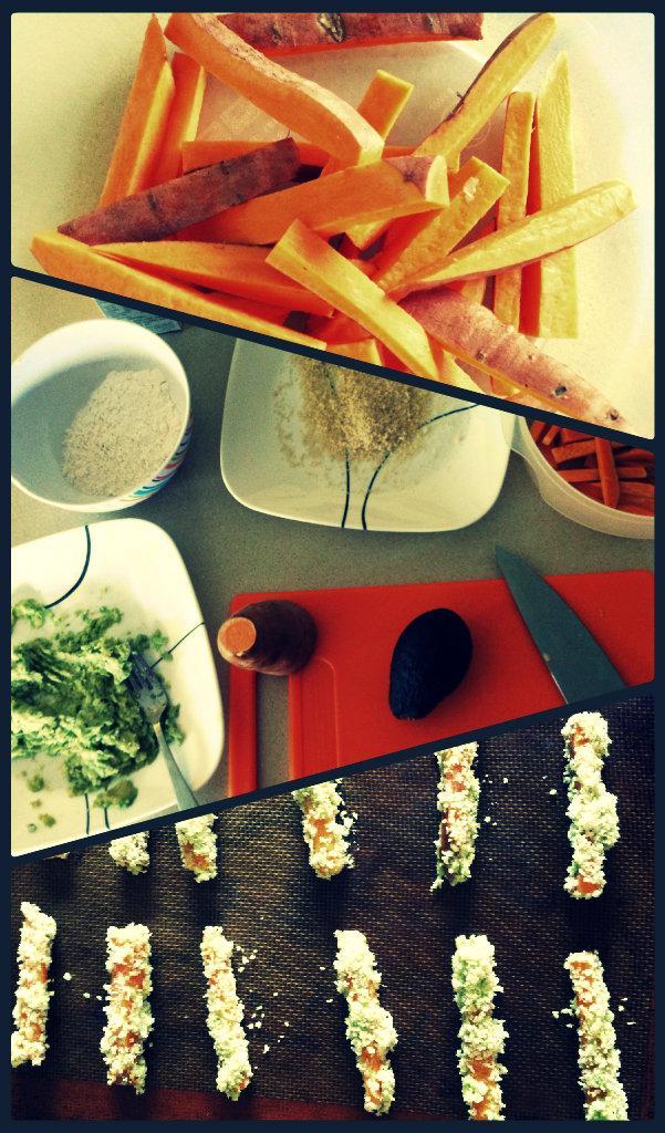 fries1 SRC: Avocado Dipped Sweet Potato Fries