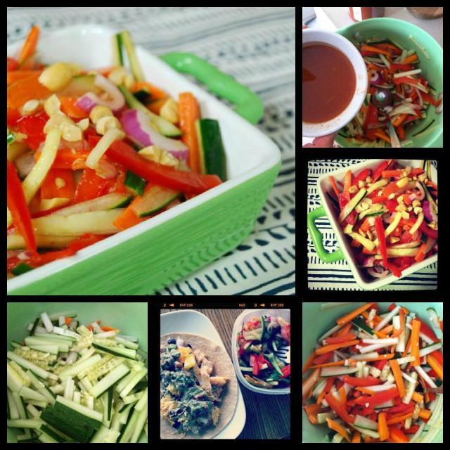 cucumber Sweet & Spicy Cucumber Salad
