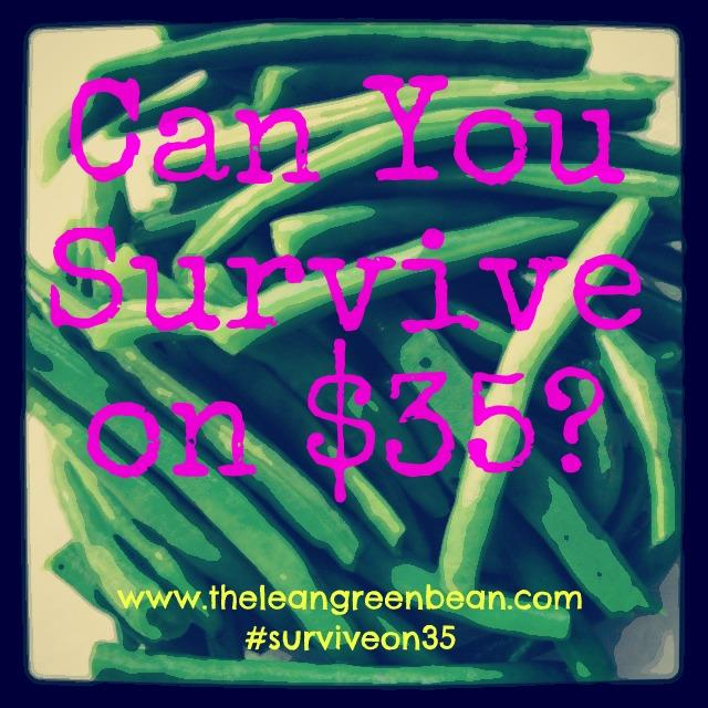 survive22 #surviveon35: Groceries & Prep Work