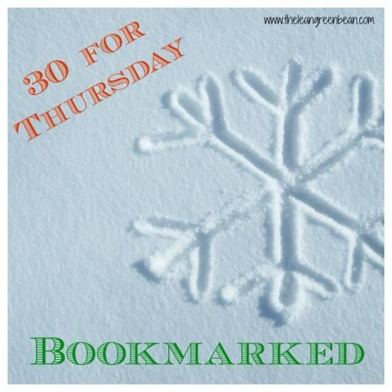 bookmarked e1354765465487 Thirty for Thursday: Bookmarked