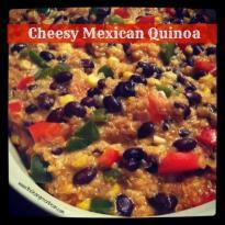 cheesy mexican quinoa e1355367881826 Cheesy Mexican Quinoa