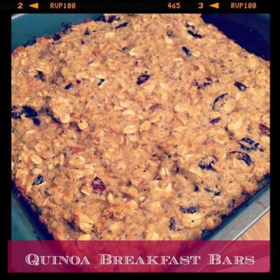 quinoa breakfast bars Quinoa Breakfast Bars