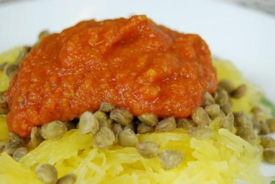 DSC 0081 e1364260724146 Crockpot Roasted Vegetable Sauce