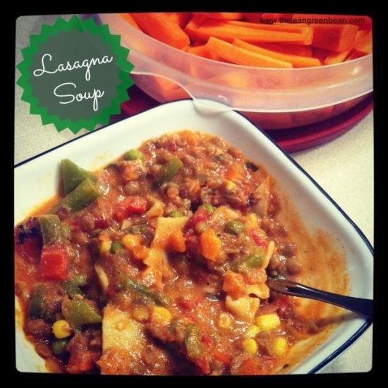 lasagna soup 1 Lasagna Soup