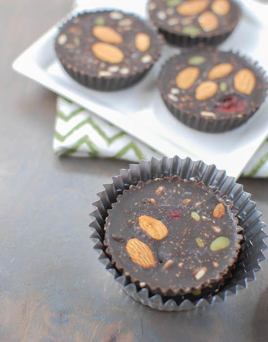 Freezer Chocolate Peanut Butter Cups | The Lean Green Bean