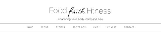 foodfaithfitness 10 Food Blogs Im Loving Lately