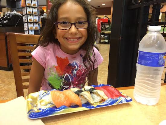 Norah sushi What Registered Dietitians Feed Their Kids