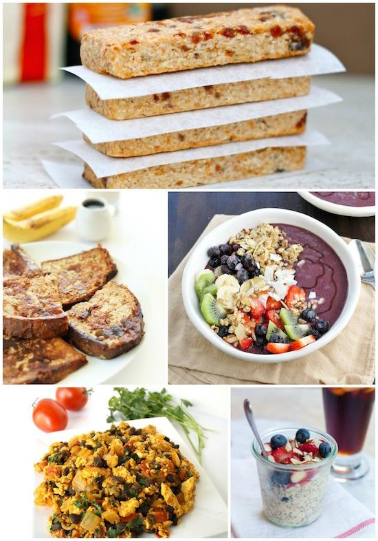 A Week of Vegan Meals - breakfast lunch and dinner meal plan for a week