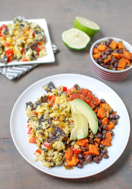 Tex-Mex Migas are a simple, vegetarian recipe, perfect for breakfast ...