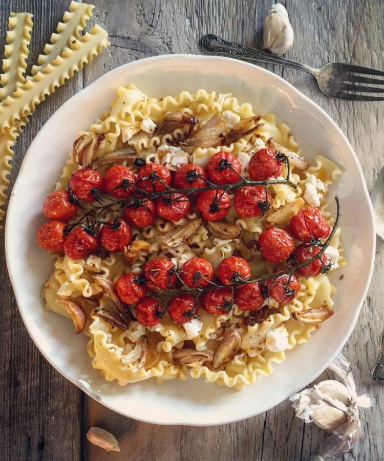 Honey Cherry Tomato Pasta