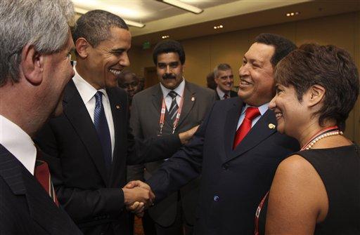 Obama - Chavez