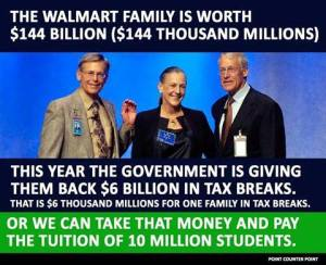 Walmart family