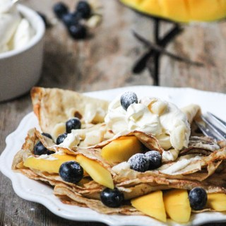 crepes, breakfast, pancakes, pancake day, shrove tuesday, morning meal, family meal, batter, easy, simple, fast, fresh fruit crepes, mascarpone cream, crepe toppings, lent, fast meals