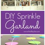DIY Dot Garland