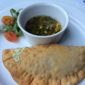 empanada-with-cheese-and-chimichurri-sauce-la-mansion-marriott-reforma