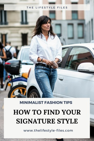 Minimalist fashion tips: The personal style uniform - The ...