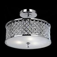 Hudson Crystal Semi-Flush Ceiling Light | The Lighting ...